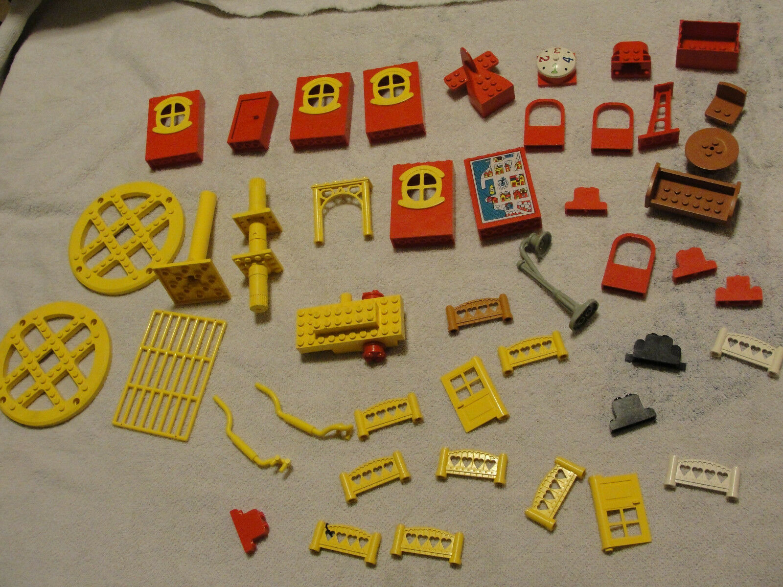 Nice lot of lego vintage parts and pieces legos must see