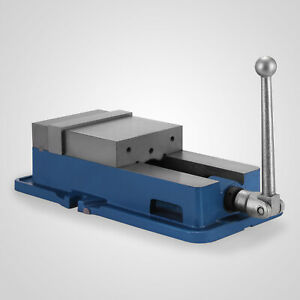 """6/"""" Worktable Precision Hardened Milling Machine Vise Lock Bench Clamp Clamping"""