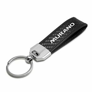 iPick Image Real Black Carbon Fiber Gunmetal Gray Metal Teardrop Key Chain for Nissan Altima