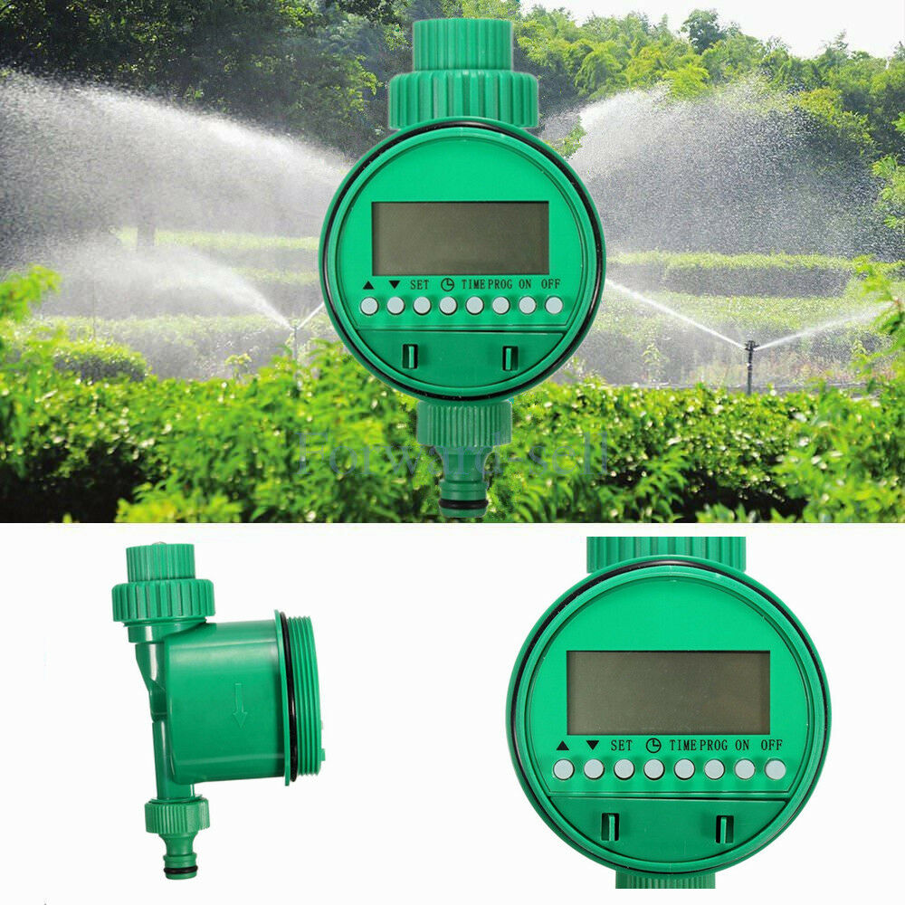 Garden Automatic Electronic Watering Timer Faucet Hose Bib Electronic Autom L3R9