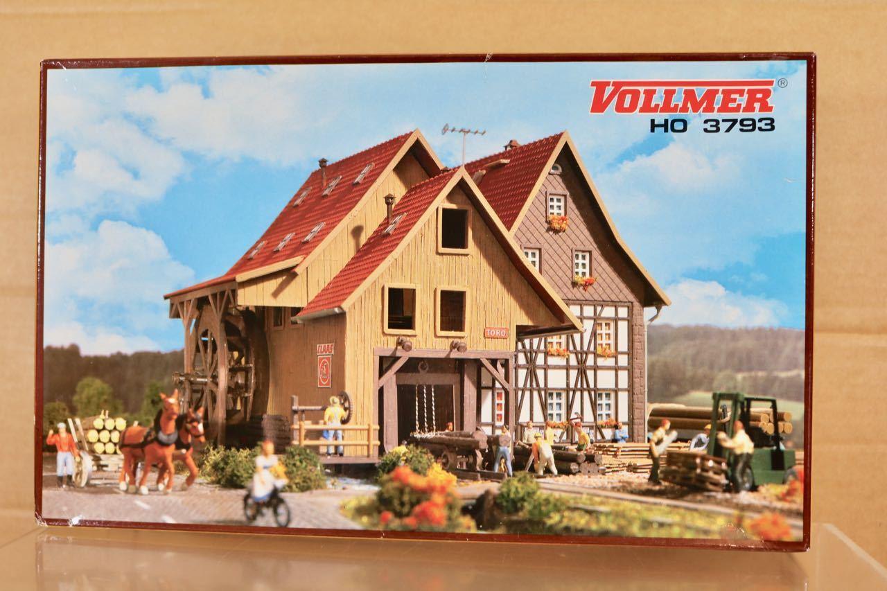 Vollmer 3793 Ho Maßstab Große Land Säge Mill Modelleisenbahn Modell-Bausatz Nq