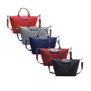 837d7573db98 Image is loading Authentic-Longchamp-Le-Pliage-Neo-Medium-Nylon-Tote-