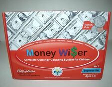 Money Wiser Currency Counting System for Kids Play to Learn  Age 4 to 6 Complete