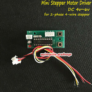 New 2-phase 4-wire DC 5v stepper motor Driver screw block slider with cable