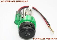 12V Zigarettenanzünder und Steckdose grün beleuchtet VW Passat Golf MK2 MK3 MK4
