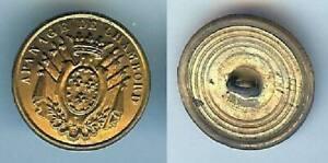Domaine De Chambord - Bouton Garde Chasse Ou Forestier D=25mm Cercles Concentr Urg5zbll-07230723-539238835