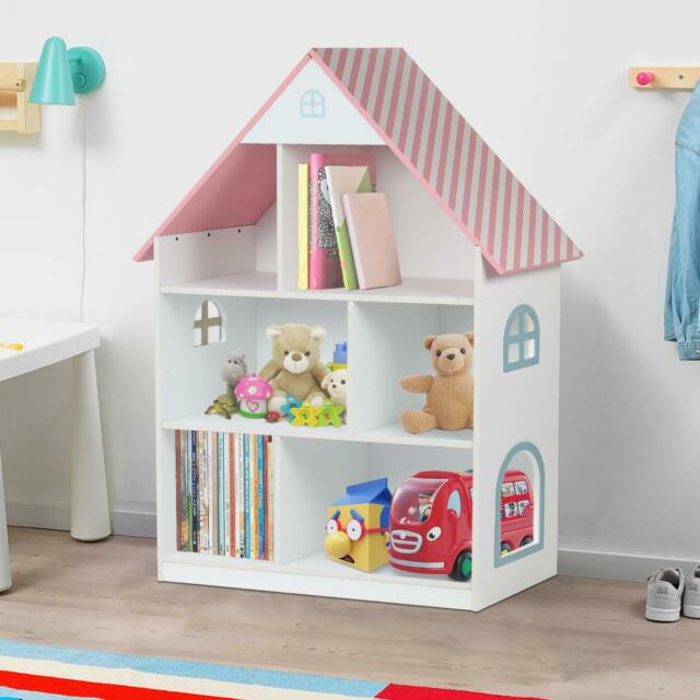 Taylor Brown 11071h Childrens Wooden Doll House Bookcase For Sale Online Ebay
