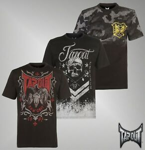Mens-Branded-Tapout-Lightweight-Design-To-Front-Top-Lifestyle-T-Shirt-Size-S-XXL