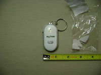 Key Finder Whistle Activated Locator/flashlight Keychain You Pick Color (new)