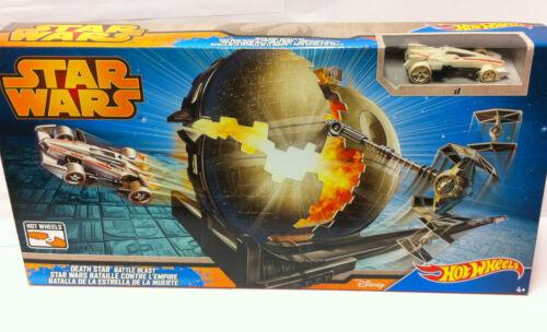 Auto NEU OVP Hot Wheels Star Wars Todesstern Battle Trackset inkl