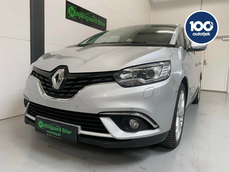 Renault Grand Scenic IV 1,5 dCi 110 Zen EDC 7prs 5d - 234.800 kr.