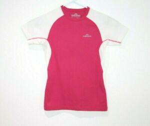 Kathmandu-Thermaplus-Pink-T-Shirt-Ladies-Size-8-POLARTEC-Tee