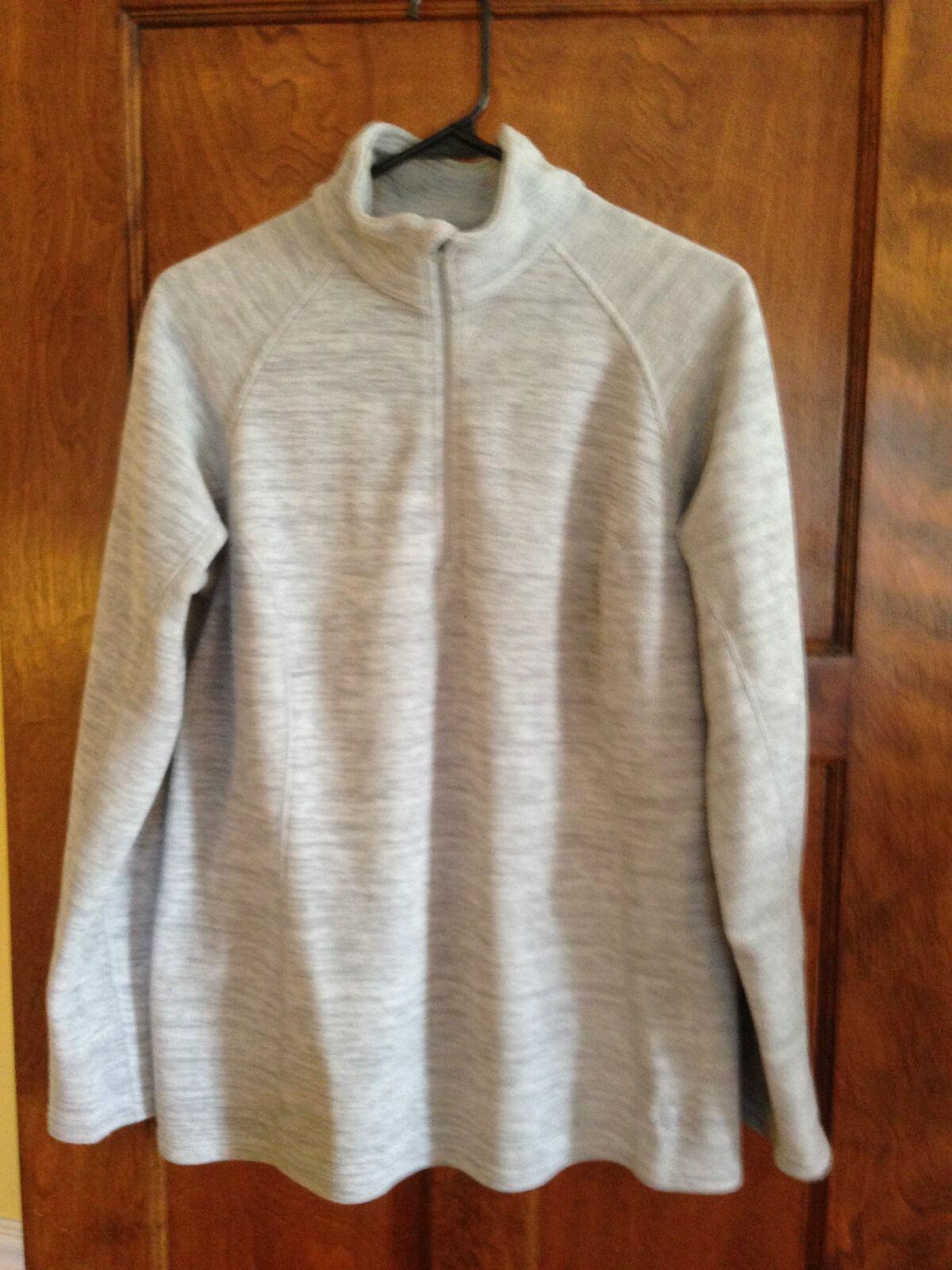 Mountain Hardwear L Women's Gray Lightweight fleece