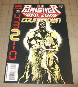 The PUNISHER: WAR ZONE #41 (July 1995) VF Condition Comic - Last Issue - Scarce