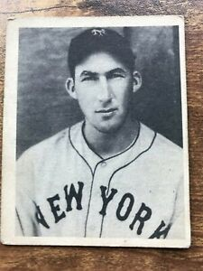 Details About 1939 Play Ball Baseball Card 18 Harry Danning New York Giants Vg No Creases