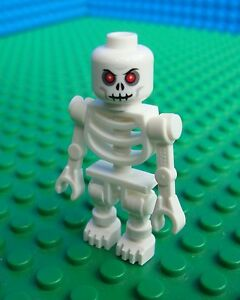 Lego Castle Black Skeleton Minifig Indiana Jones Pirate