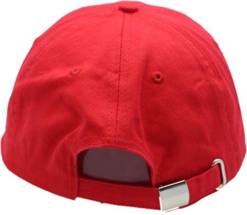 Wrigley Field Est 1914 MLB Red Buckle Back Cap 4687