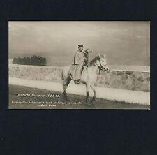 Russisch Polen DEUTSCHE FELDPOST 14/18 Feld-Postillon * Vintage Photo-PC Foto-AK