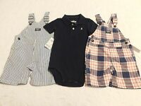 Boys Clothes Size 18 Months Oshkosh Overall Summer Lot Brand Retail $84