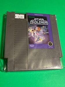 WORKING-NINTENDO-NES-SUPER-RARE-GAME-Cartridge-Taxan-STAR-SOLDIER