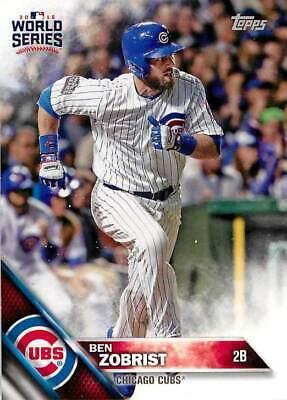 2016 Topps #447 Ben Zobrist NM-MT Cubs