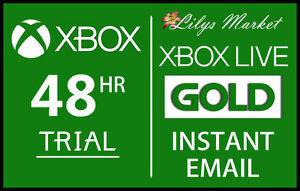 XBOX-LIVE-GOLD-48HR-2-DAY-TRIAL-INSTANT-DISPATCH-48-HOUR-2-DAYS-48-HOURS