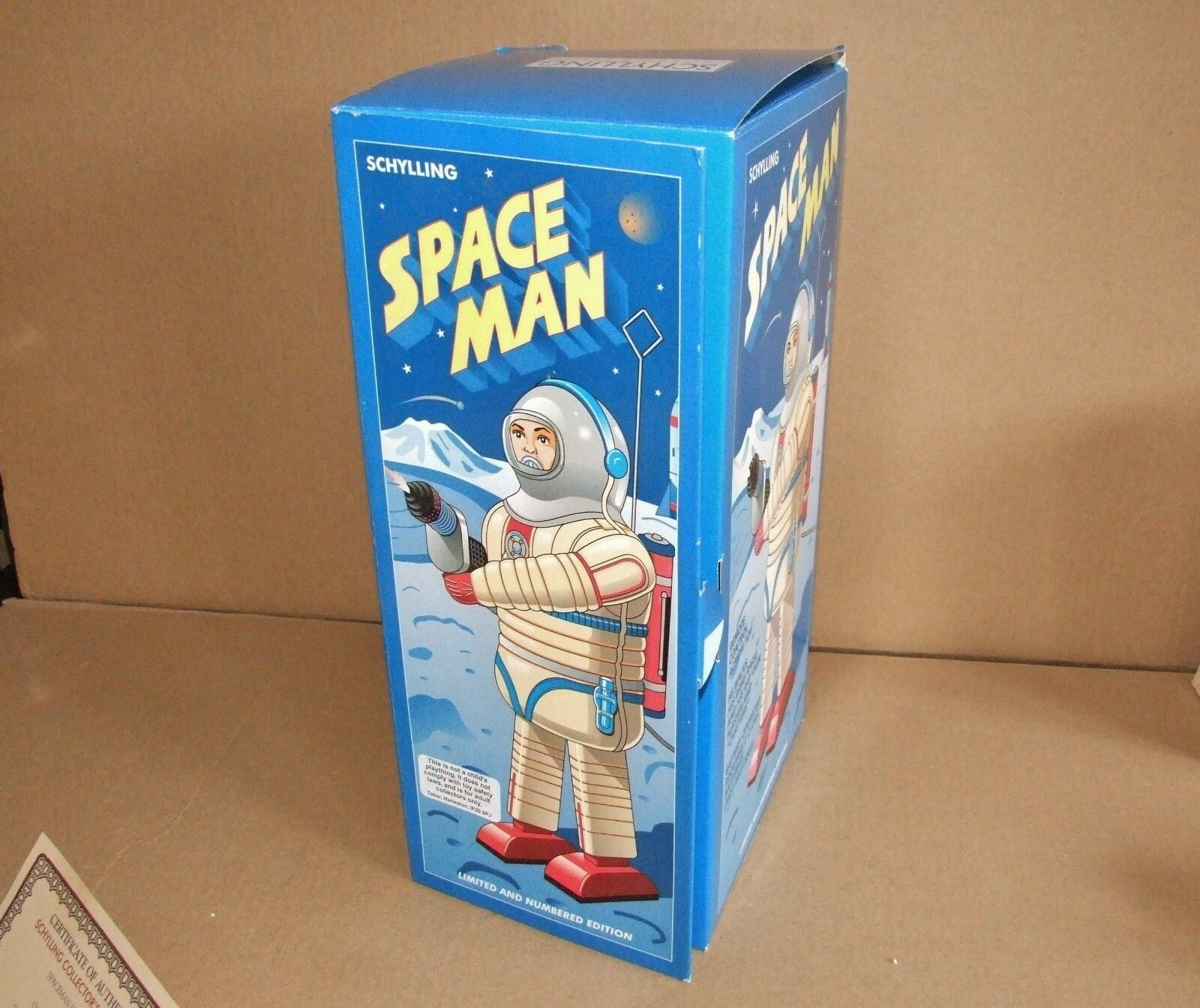 Schylling SPACE MAN Battery Operated Robot