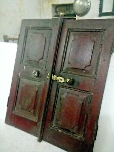 Details About Old Vintage Collectible Early Period Carved Wooden English Art Window Wall Decor