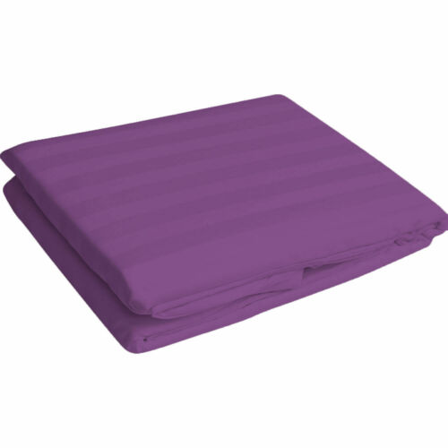 1000TC EGYPTIANCOTTON EXTRA DEEP PKT 1PC FITTED SHEET TWIN-XXL SIZE STRIPE COLOR