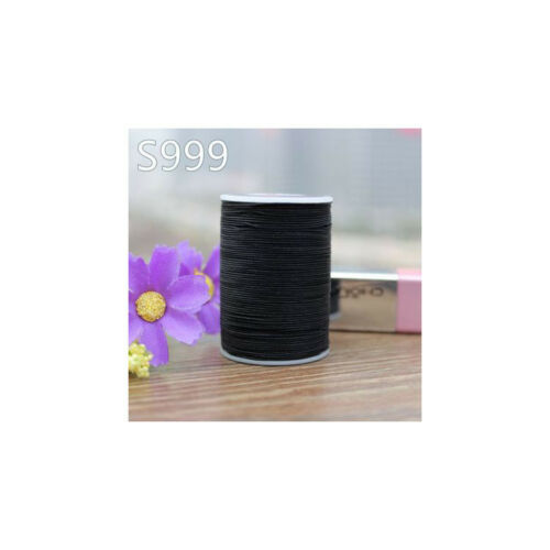 Professional 8 Strands Waxed Lined Thread 0.5mm 112M hand sewing leathercraft