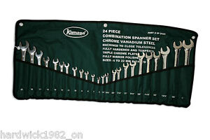 KAMASA-LAST-FEW-COMBINATION-SPANNER-WRENCH-SET-24Pce-6-22mm-IMPERIAL