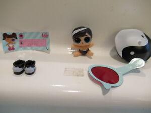 LOL Surprise Lil Yin BB AND Yang QT Cutie Doll Set Lil Sisters Eye Spy Series 4