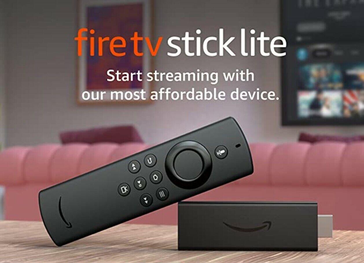 Amazon Firestick + 12 Months Tv Player