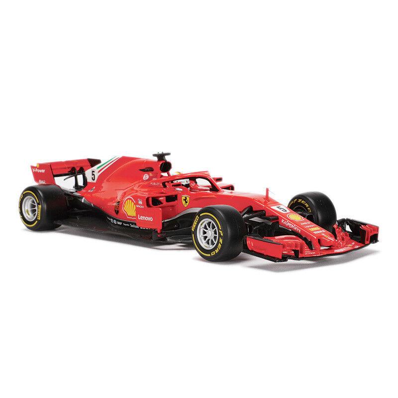 Bburago 1 18 2018 FERRARI FORMULA 1 F1 SF71-H Sebstian Vettel Diecast Car Model