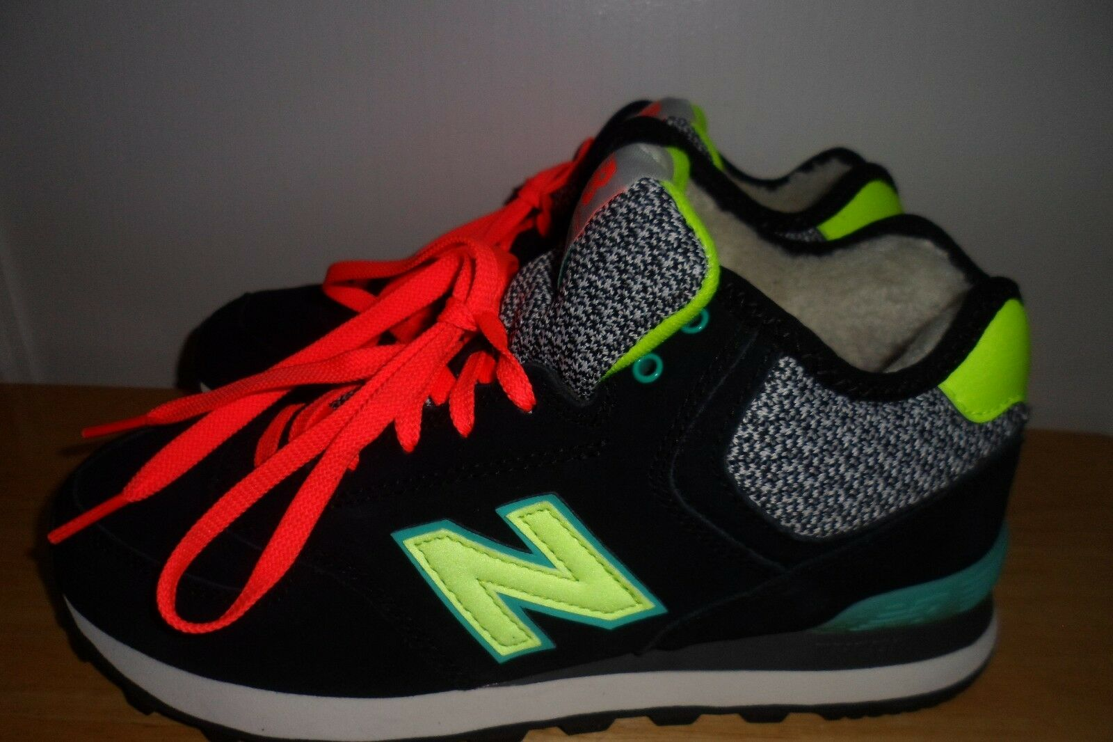 MUST SEE 2016 New Balance 574 WH574WA SHOES WOMENS 8.5 B MINT CONDITION LN