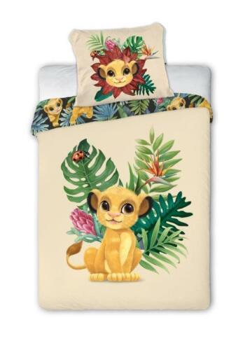 Disney Lion King Roi Lion Enfants Linge De Lit Lit Linge 100x135 cm