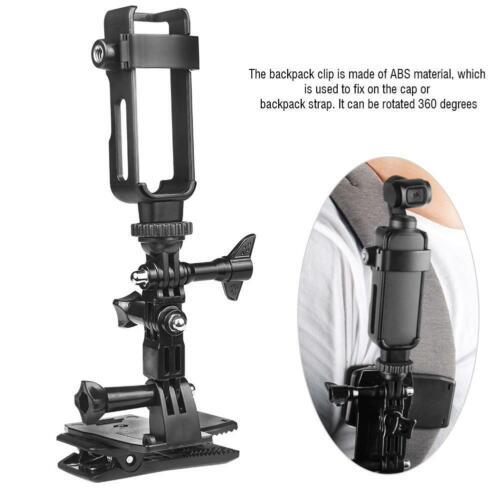 Backpack Clip Kit for DJI OSMO Pocket Action Camera Metal Protective Frame