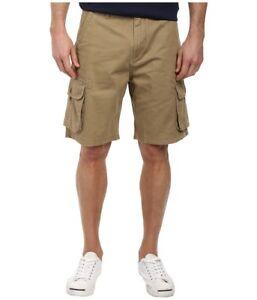 87465c75af Quiksilver - Deluxe Cargo Short Grey (Elmwood) Men's Shorts Size 28 ...