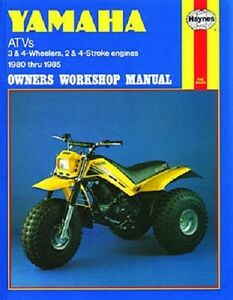 haynes service repair manual m1154 yamaha ytm200 ytm225. Black Bedroom Furniture Sets. Home Design Ideas