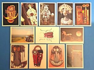 Set-of-12-NEW-Postcards-SCULPTURES-Mental-Health-Therapy-Picture-Resource-Cards