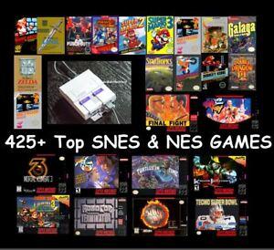 Super-Nintendo-Classic-Edition-SNES-Mini-Classic-425-Games-From-SNES-and-NES