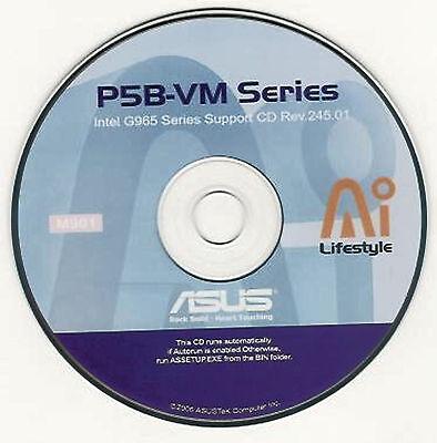 asus p5b-vm motherboard drivers free download