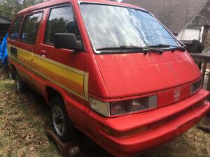 1989 4×4 Toyota Window Van like a Japanese Hiace