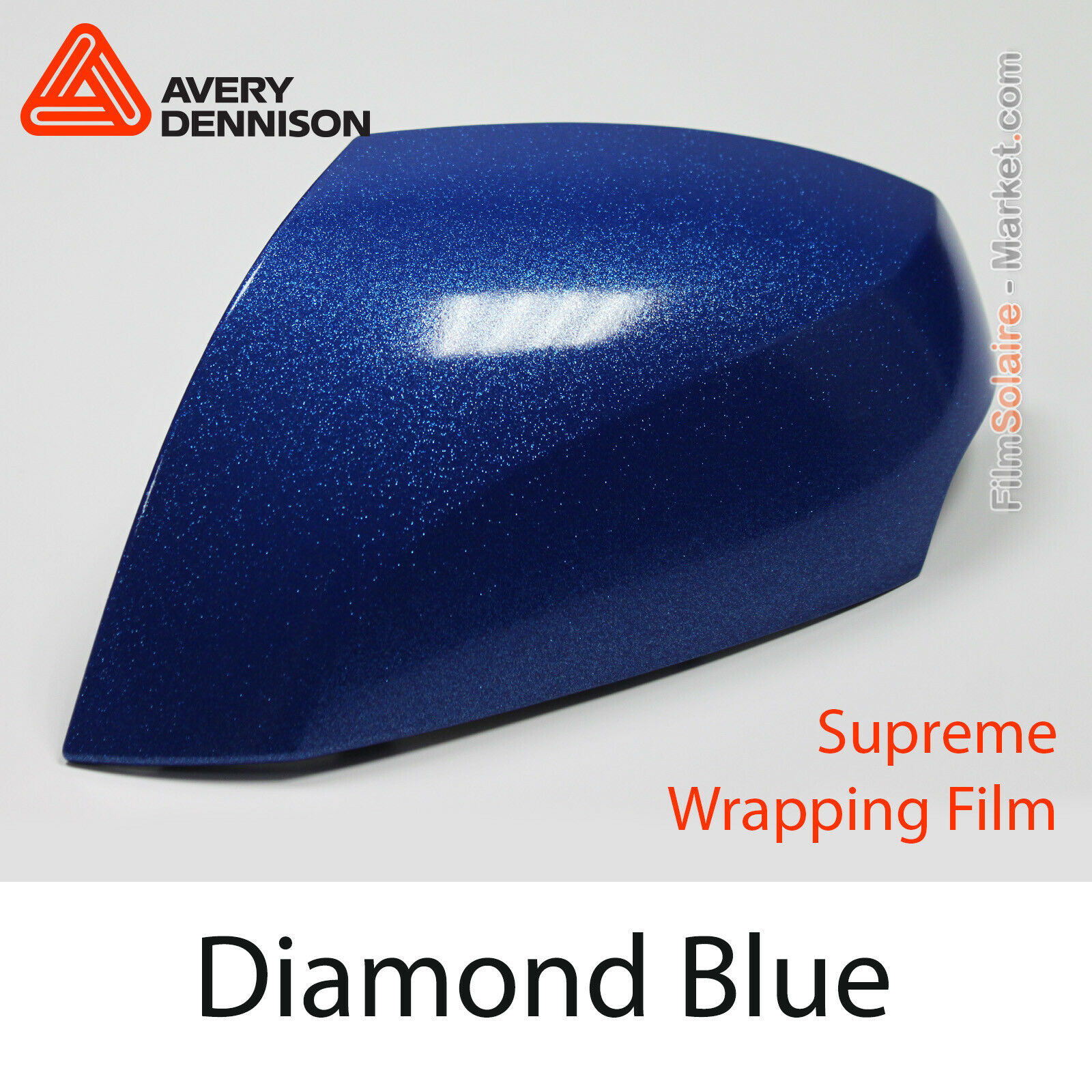 Diamante azul, Avery Dennison Supreme Vinil Lámina, Total Covering, Bd2890001