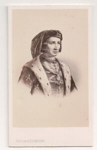 Vintage-CDV-King-Charles-VI-of-France-the-Mad-E-Desmaisons-Photo