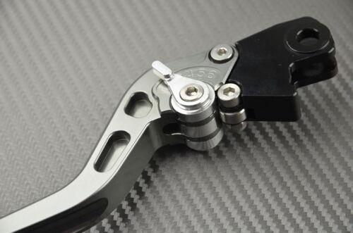 2008 Long brake /& clutch levers pair TITANIUM CNC Cagiva Raptor 1000 2003
