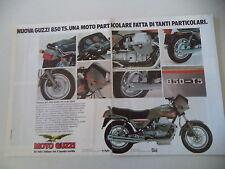 advertising Pubblicità 1984 MOTO GUZZI 850 T5 T-5
