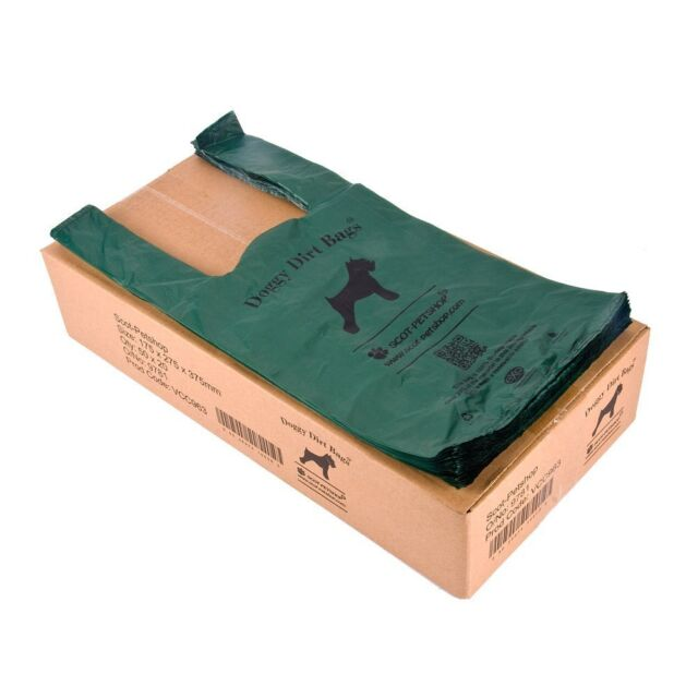 Scot Pet 1000 Large Exo Biodegradable Dog Poo Bag Eco Waste Bags