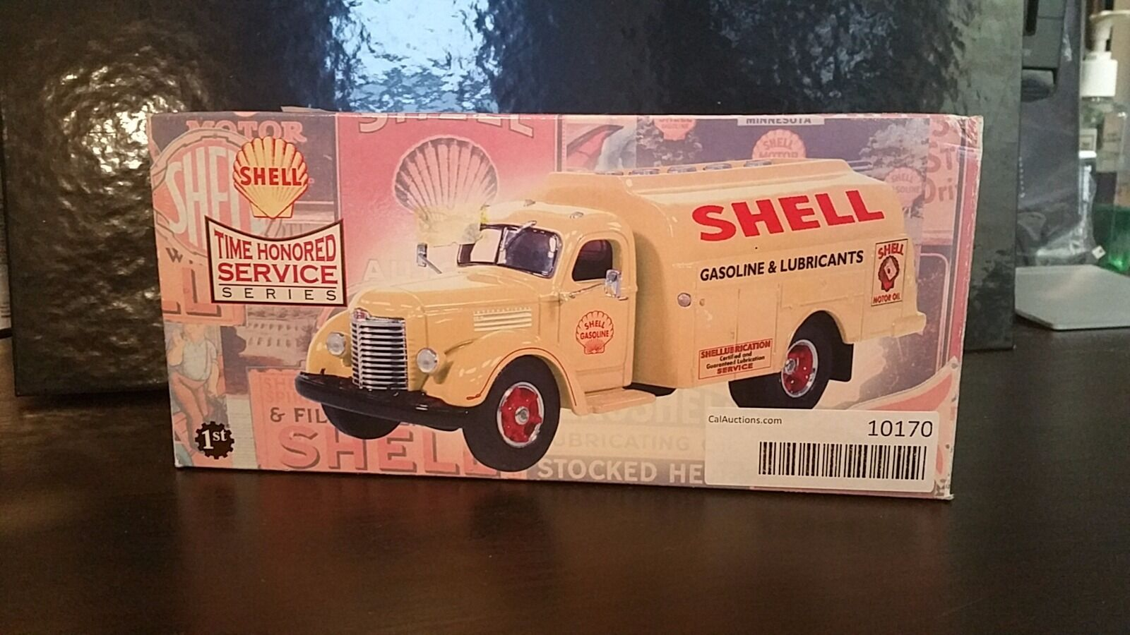 First Gear Shell 1949 International Kb 8 Tanker Car Truck Ebay Dodge Semi Norton Secured Powered By Verisign