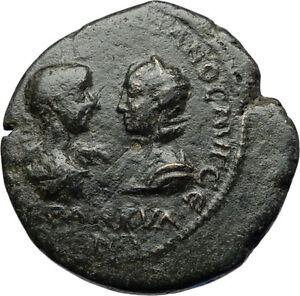 GORDIAN-III-amp-TRANQUILLINA-Tomis-Authentic-Ancient-Roman-Coin-ZEUS-i71086